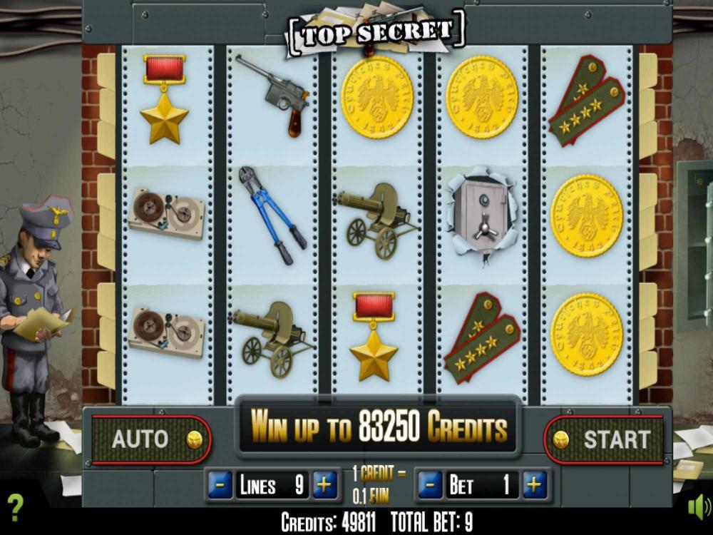 Top secret slot machine game wheel of fortune casino slot