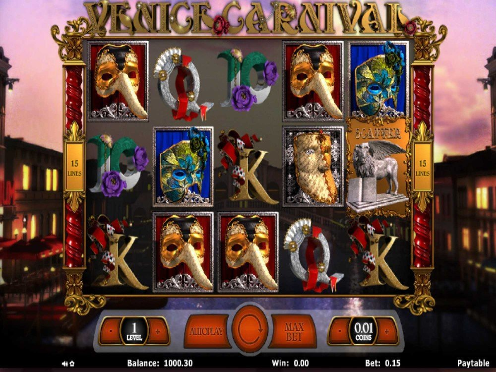 Venice Carnival Slot screenshot