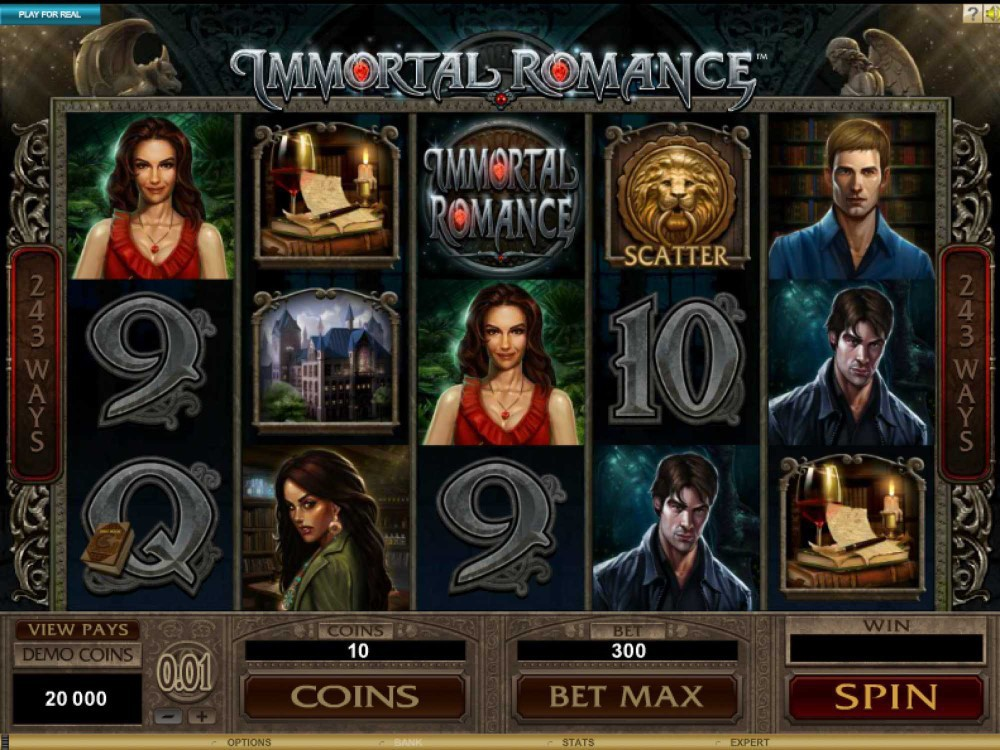 Immortal Romance Slot screenshot