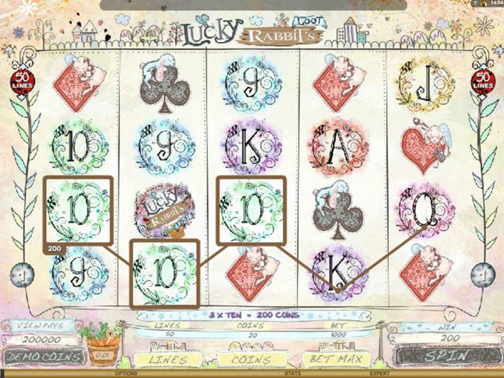 Lucky Rabbits Loot Slot - Slots - GamblersPick