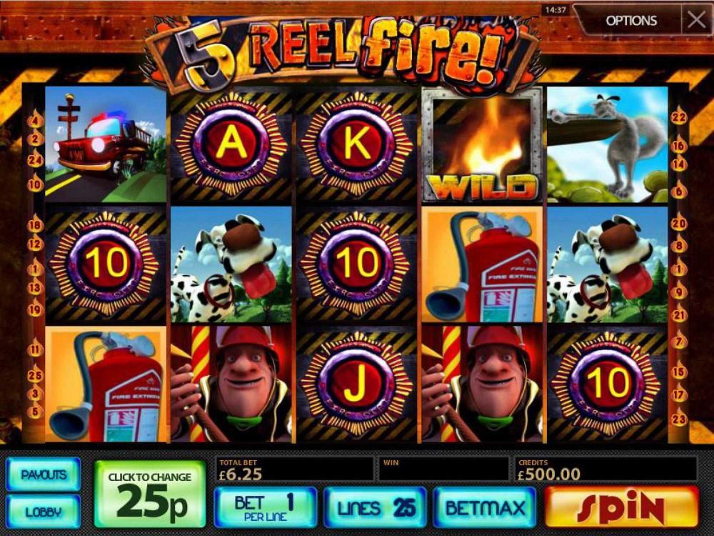 5 Reel Fire! Slot screenshot