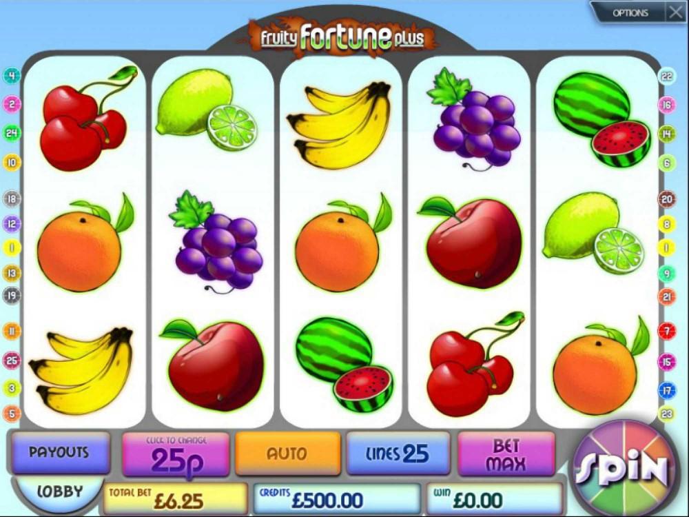 Fruity Fortune Plus Slot screenshot