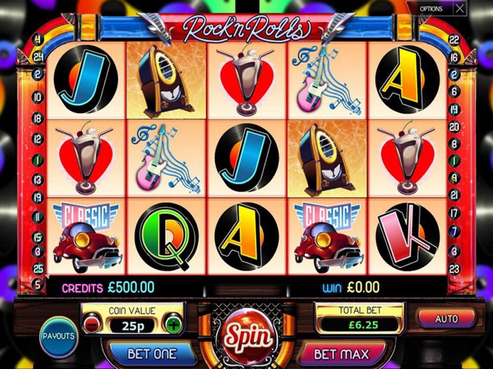 Rock'n Rolls Slot screenshot