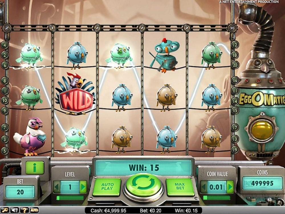 EggOMatic Slot screenshot
