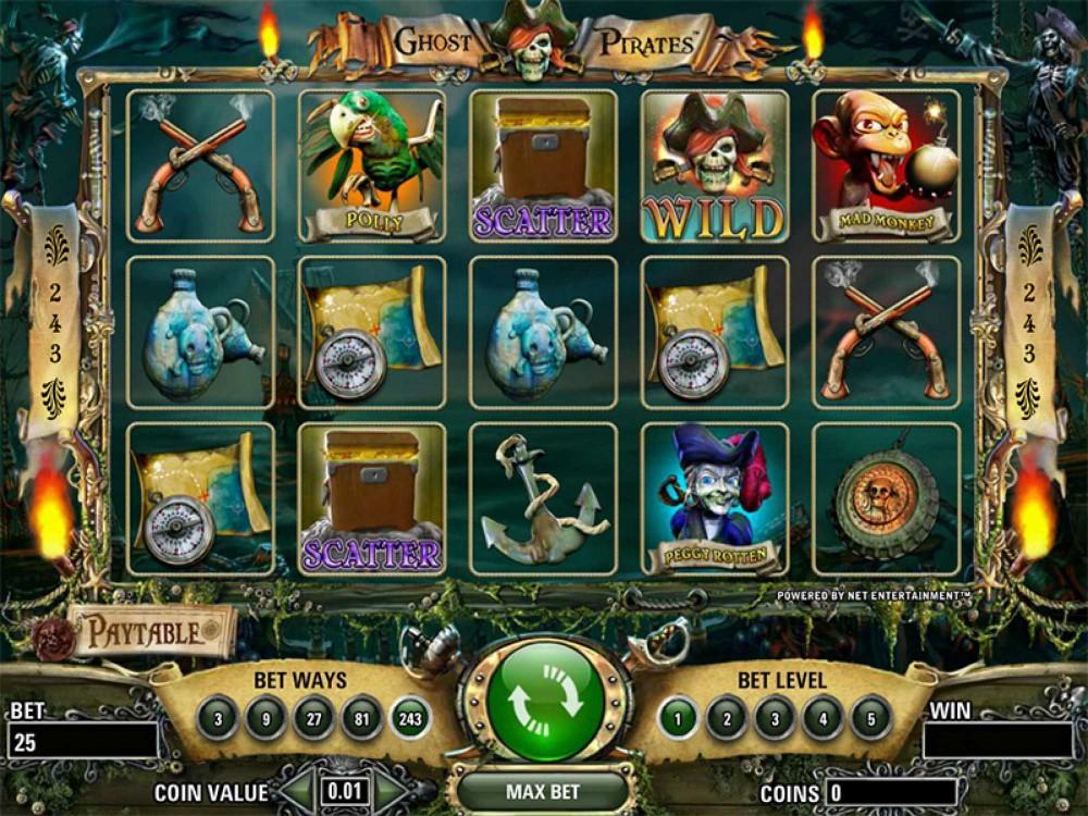 Ghost Pirates Slot screenshot