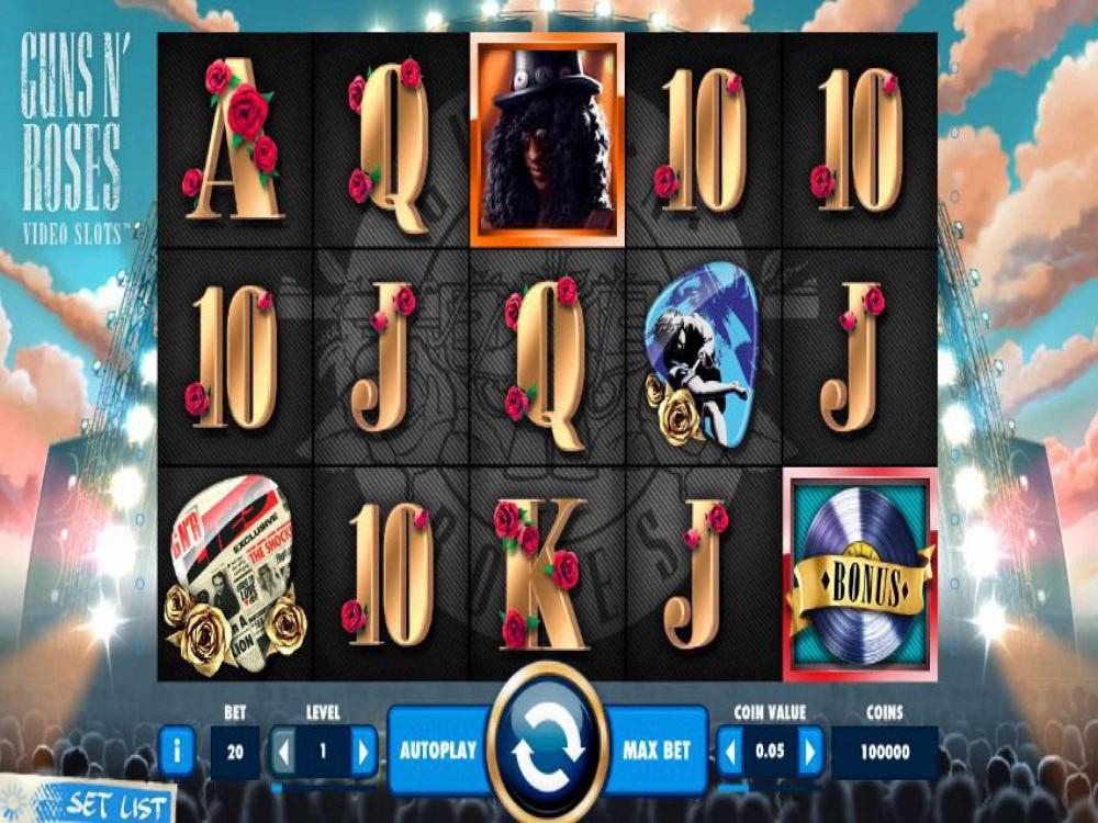 Guns N' Roses Slot screenshot