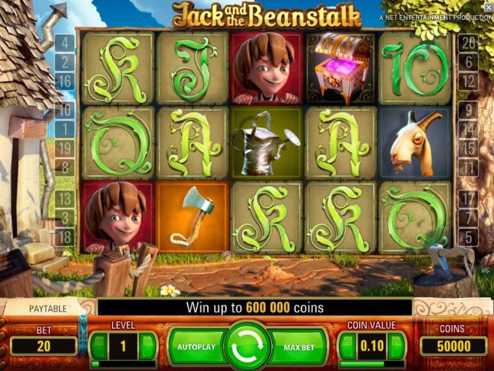 Jack and the Beanstalk Slot screenshot