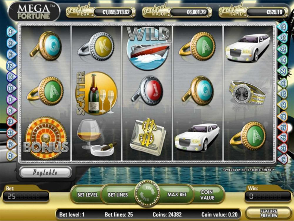 Mega Fortune Slot screenshot