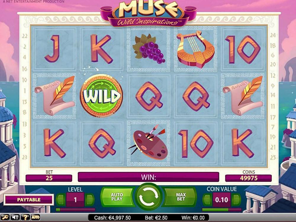 Muse Wild Inspiration Slot screenshot