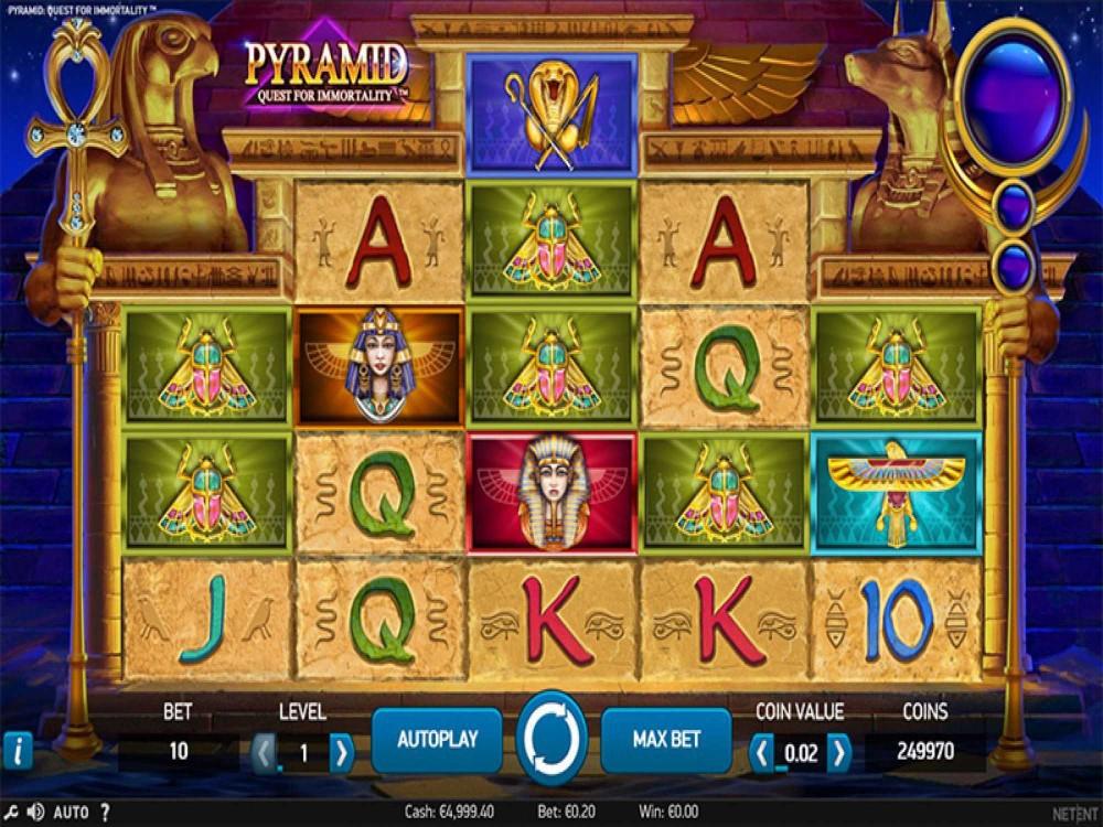 Pyramid: Quest for Immortality Slot screenshot
