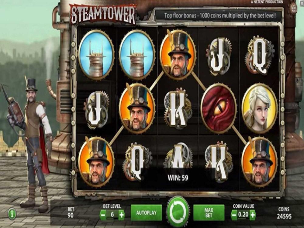 Steam Tower Slot screenshot