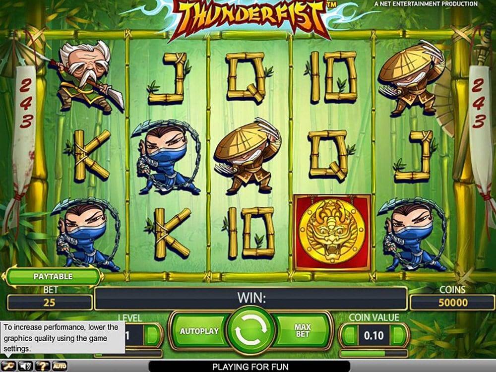Thunderfist Slot screenshot