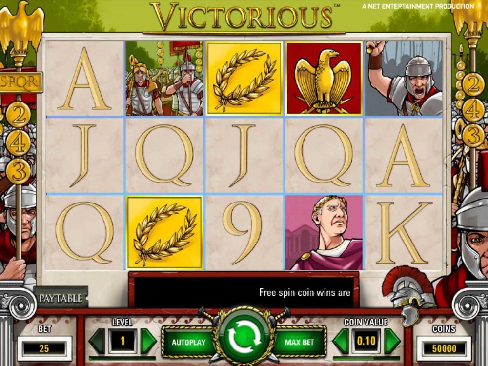 Victorious Slot screenshot