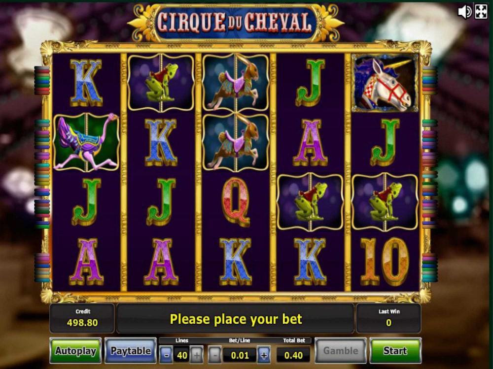 Онлайн игровой автомат cirque du cheval играть на сайте игрового клуба симферополь секретные