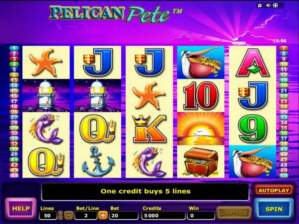 free pelican pete slot machine