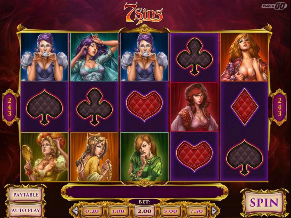 7 Sins Slot screenshot