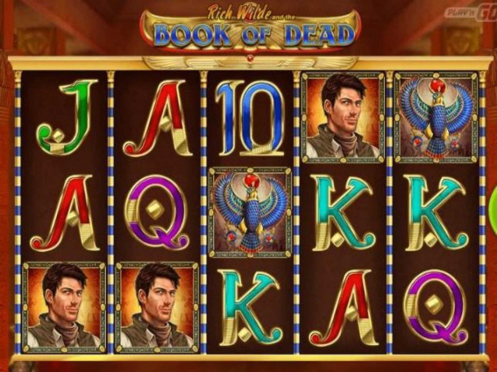 Rich Wilde and The Book of Dead Slot screenshot