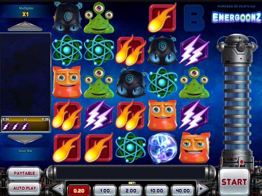 Energoonz Slot screenshot