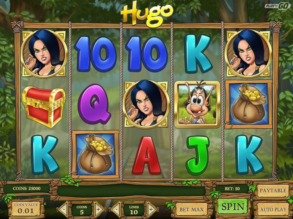 Hugo Slot screenshot