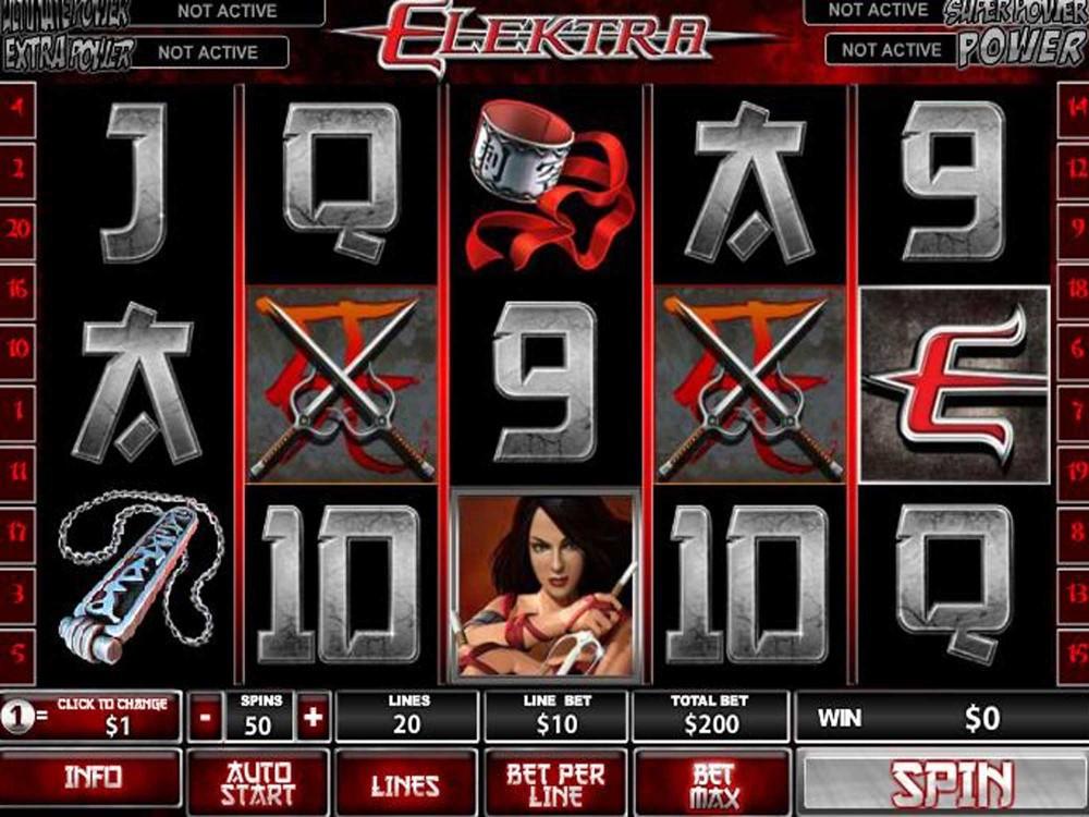 Elektra Slot screenshot