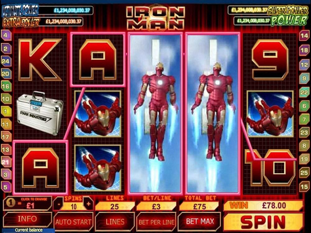 Iron Man 3 Slot screenshot