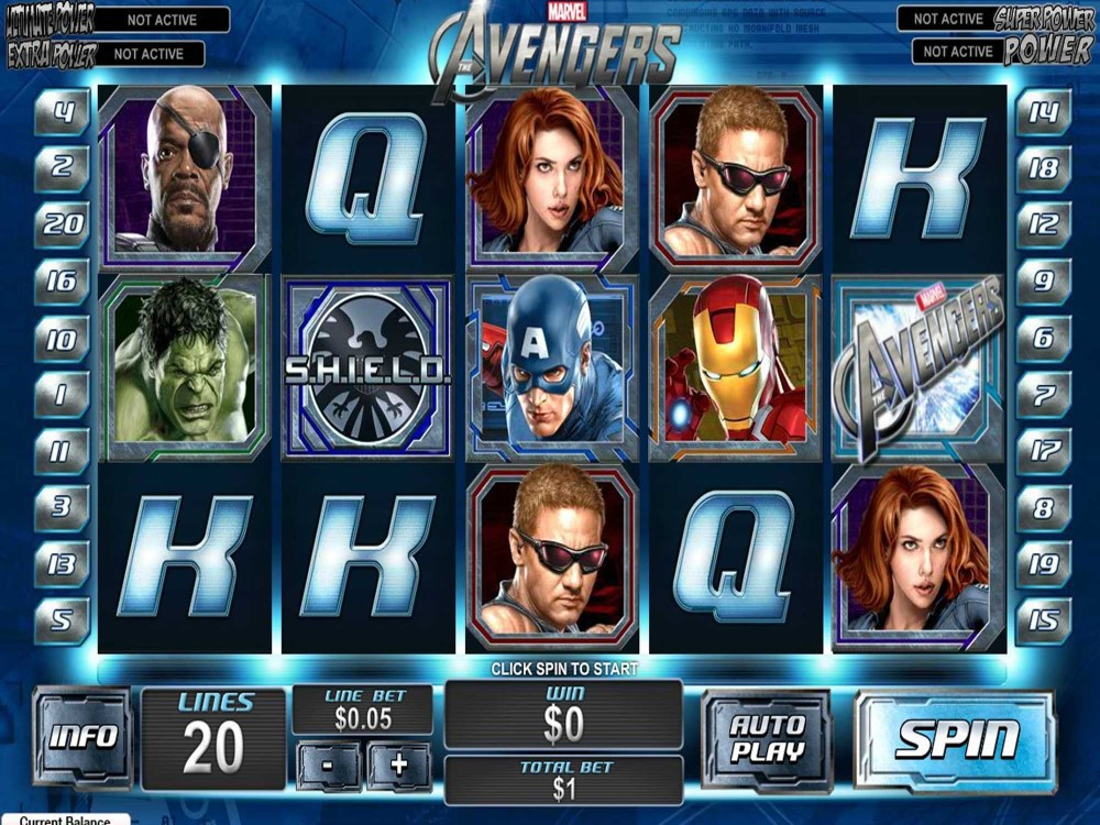 Avengers Slot screenshot