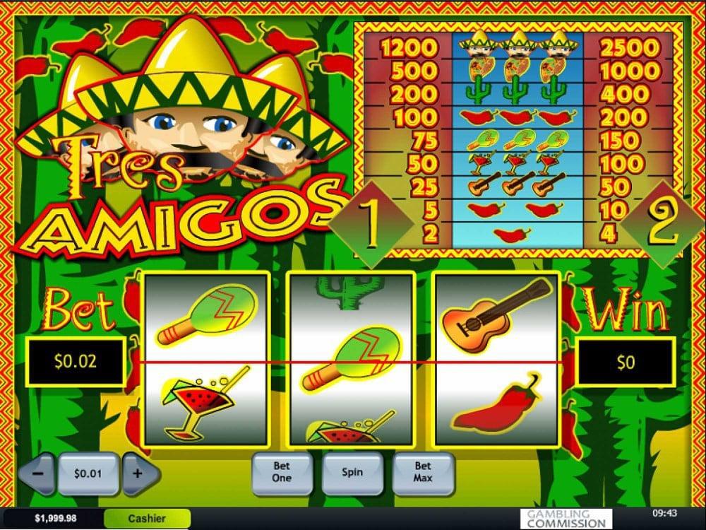 Spiele Tres Amigos - Video Slots Online