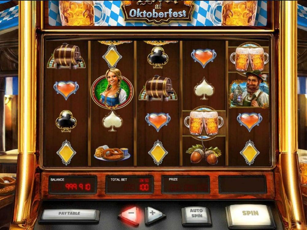 Heidi at the Oktoberfest Slot screenshot