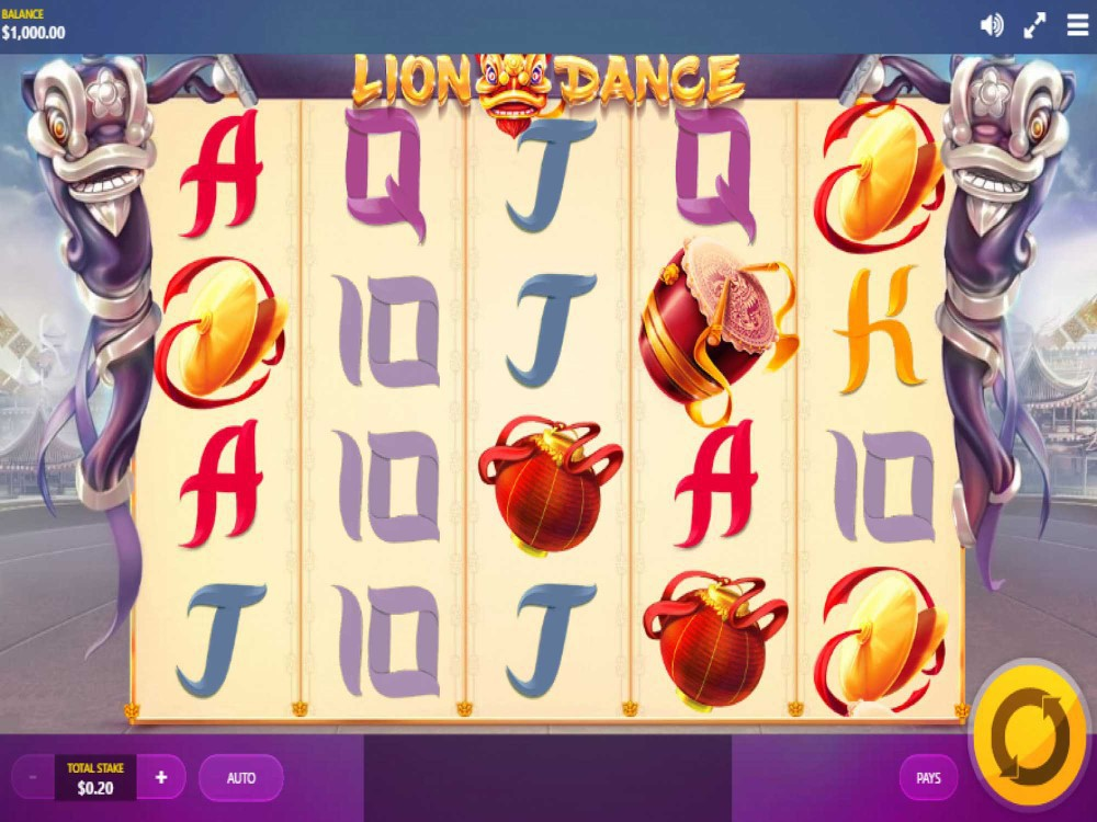 Lion Dance Slot screenshot