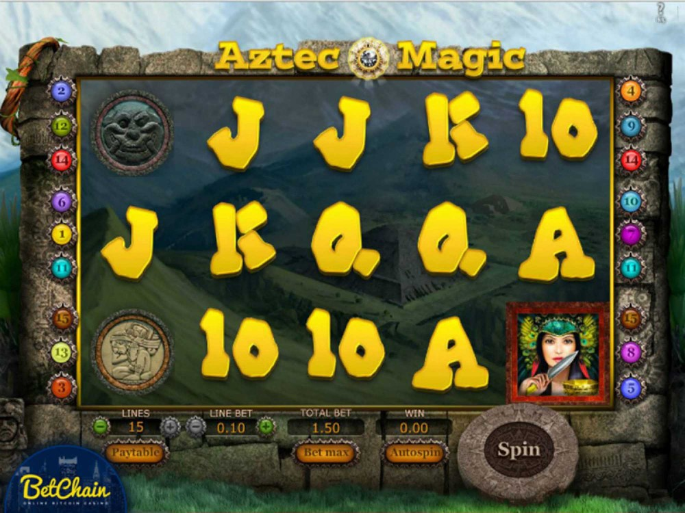 Aztec Magic Slot screenshot