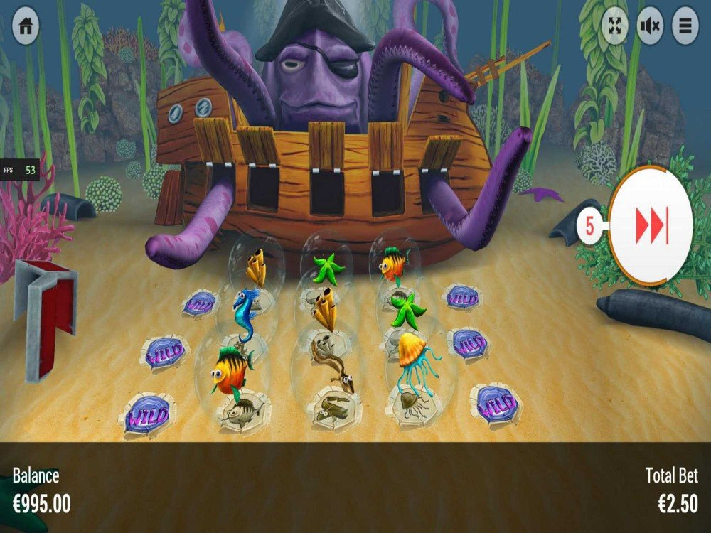 Johnny the Octopus Slot screenshot