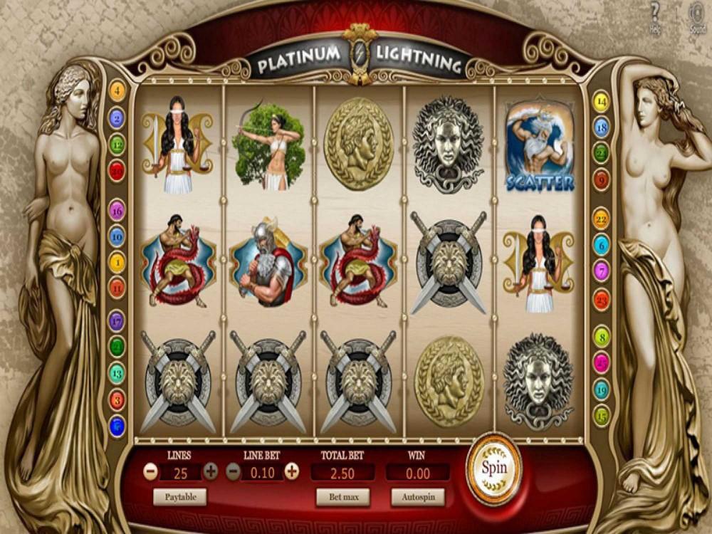 Platinum Lightning Slot screenshot