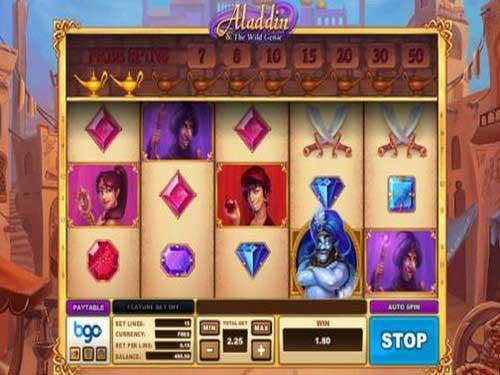 Aladdin and The Wild Genie
