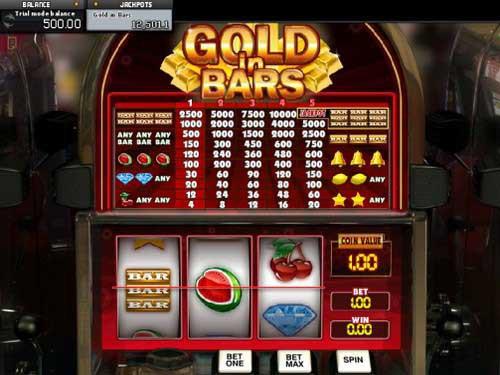 Gold In Bars