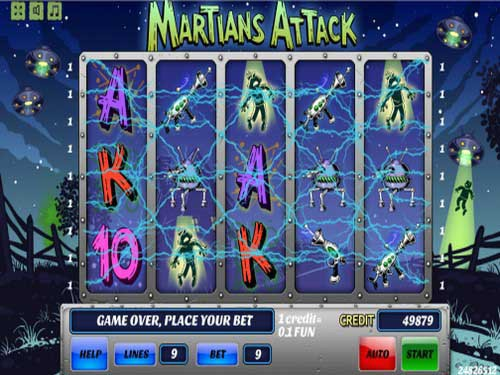 Martians Attack