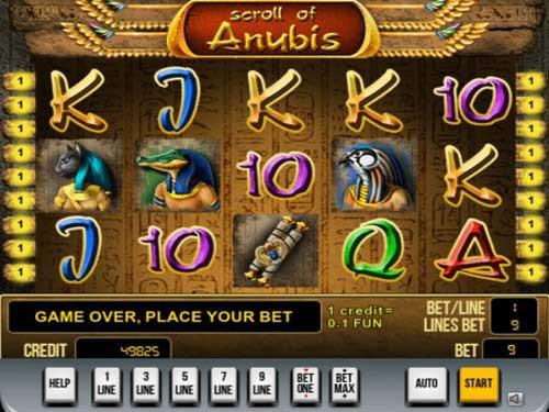 Scroll of Anubis